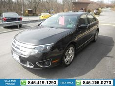 2010 FORD FUSION SPORT 56k miles $11,991 56674 miles 845-419-1293 Transmission: Automatic  #FORD #FUSION #used #cars #JimmysAutoOutlet #Fishkill #NY #tapcars