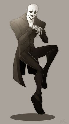 gaster by calanii on DeviantArt. If you don't know who he is look him up now he's a great character
