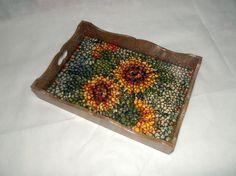 bandejas decoradas con mosaicos - Pesquisa Google