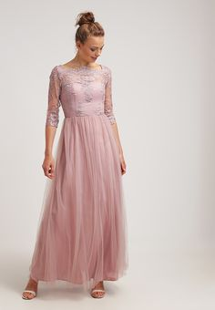 Chi Chi London FAY - Occasion wear - mauve Women Cocktail Dresses,chi chi london bardot maxi dress,stylish