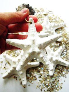 Beach Wedding Decorations Starfish Ornaments 5 by unconventionalJ, $20.00
