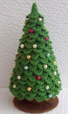 Patroon Kerstboom Haken