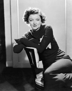 We Had Faces Then — Myrna Loy, 1936