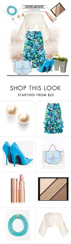 """""""spring new fashion look mix and much"""" by rousou ❤ liked on Polyvore featuring Nadri, Michael Kors, John Lewis, Balenciaga, Collezione Alessandro, Elizabeth Arden and STELLA McCARTNEY"""