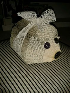 Book folding.... Hedgehog                                                                                                                                                      More
