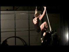 ▶ Shannie Solo Trapeze Act - YouTube   Lovely song, and expressive performance