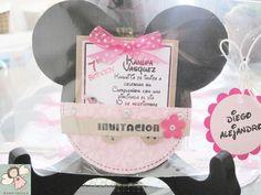 Moms-Angels: Tarjetas de Invitacion Minnie