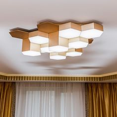 Люстра потолочная светодиодная Lightstar 750123 Copper Lighting, Tv Unit, House In The Woods, Honeycomb, Lighting Design, Diy And Crafts, Woodworking, Shelves, House Design