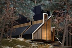 Using geometric shapes in a unique manner is somewhat of a trademark for Russian architect Alex Nerovnya, and the York House puts that signature style on full display.