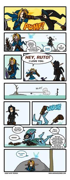 Poor Dark Link
