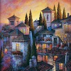 Spray Painter, Paintings, Award Winning, Spanish Artist, Spanish Painter, Illustrator, Landscape, colorful painting, Luis Romero Malaga Spagna, Spanish Painters, Spanish Artists, Facebook Search, Spray Painting, Painting Art, Art Paintings, Desktop, 5d Diamond Painting
