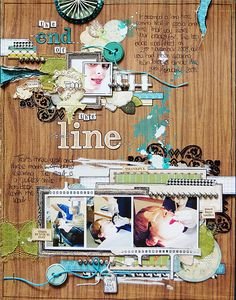 Love the layout by Emma Trout