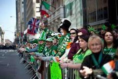big parade in Ireland