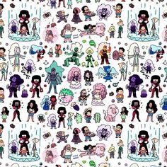 Cute Steven Universe Doodle Art Print by KiraKiraDoodles | Society6