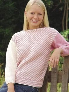 Point to Point Blouse: #knit #knitting #free #pattern #freepattern #freeknittingpattern #knittingpattern