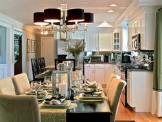 Love the layout and nice dining area off the kitchen