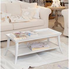 Biały stolik drewniany Castagnetti Babette