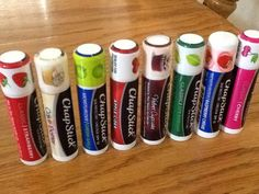 Chapstick!  :)  -   LOVE the Cake Batter, and Apple Cider...  Just got the Velvet Cupcake to try too!  - ses