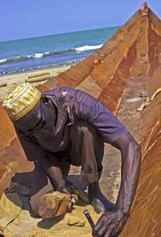 The Gambia, Photography of Pirogues and Fishing by Mallory on Travel