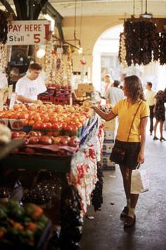 The French Market in New Orleans offers local food, local flare, and local charm... all in one! Definitely a must see while in town!     Photo Credit: David Richmond and NewOrleansOnline.com