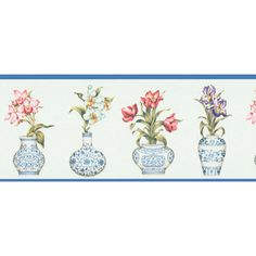 Shop for Brewster Blue Vintage Botanical Border. Free Shipping on orders over $45 at Overstock.com - Your Online Home Improvement Destination! Get 5% in rewards with Club O!
