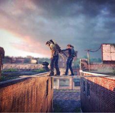 Yehhhh, cross dat plank, goiys! The Last of Us -Will