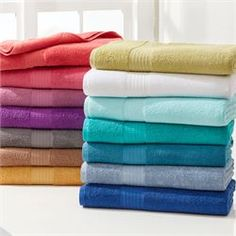 Bath Towels SPLASH 100/% Cotton Highly Absorbent  Large 27 x 54 In Bath Sheet