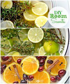 DIY Stovetop Room Scent Recipes