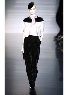 giorgio armani couture fall 2012