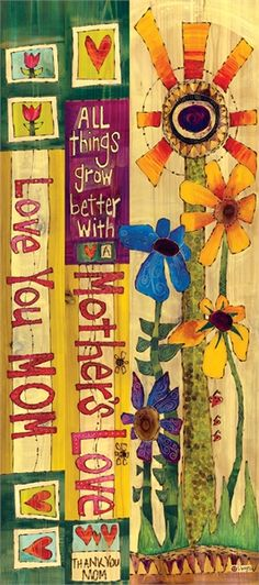 This 3-foot Art Pole features bold, bright colors and messaging all things grow from a mother's love. It makes a uniquely beautiful addition to any lawn or garden.  A Studio M exclusive, Art Poles are an impactful way to bring beautiful artwork to any landscape. Ultra-durable for years of enjoyment.
