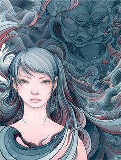 L'art japonais - Le Japon et ces mystères viennent a vous!