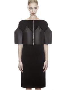 NEOPRENE AND KNIT DRESS | DZHUS   | £190.00
