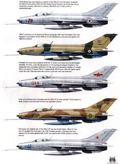 The classic MiG 21