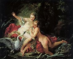 Francois Boucher Leda and the Swan painting for sale, this painting is available as handmade reproduction. Shop for Francois Boucher Leda and the Swan painting and frame at a discount of off. Rococo Painting, Oil Painting Reproductions, Giovanni Boldini, Norman Rockwell, Zeus Children, Art Magique, Lady Godiva, Greek And Roman Mythology, Lindbergh