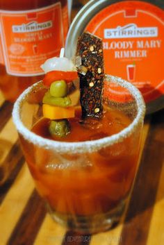 Culinary Adventures with Camilla: Beefed Up Brown Mary for the @stirringsmixer Stir It Up Holiday Blogger Mixology Challenge #Sponsor
