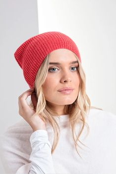 Brodie Women's Cashmere Jos Beanie Hat With Ribbed Finish - Brodie Cashmere Beanies, Beanie Hats, Cashmere Beanie, Warm And Cozy, Snug Fit, Cosy, Classic Style, Winter Outfits, Stylish