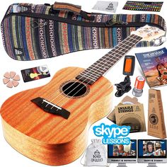 Would you love to learn how to play ukulele? If you are a beginner and do not kn. Best guitar Advisor bestguitaradvisor Best Beginner Ukuleles Would you love to learn how to play ukulele? If you are a beginner and do not know which is the best begi Ukelele Soprano, Ukulele Strings, Free Facebook Likes, Tv Set Design, Full Body Workout Routine, Online Lessons, Whatsapp Messenger, Machine Design, New Things To Learn