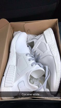 0fdcb1336 Adidas · Nmd WhiteWhite SneakersHigh Top ...
