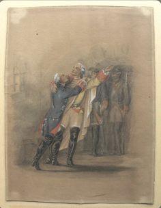 Friedrich Ii, Frederick The Great, King, History, Dark, Painting, Historia, Painting Art, Paintings