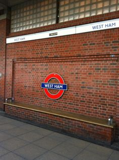 West Ham London Underground and DLR Station in West Ham, Greater London