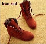 Stylish Flat Ankle Boots-shoes-SheSimplyShops