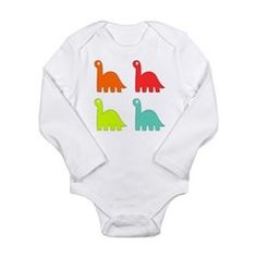 Baby Dinosaurs Body Suit