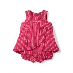 Karuli Romper Dress | Tea Collection