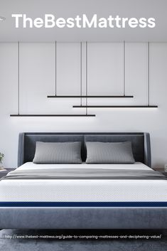 Read our mattress comparison to learn about the differences in memory foam, latex, and innerspring mattresses and find the most comfortable bed for you. Best Mattress, Mattress Brands, Mattresses, Storage, Bed, Cover, Furniture, Home Decor, Purse Storage