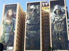 These 30 billboard ads don't just turn people's heads; they actually manage to creep into the minds of anybody who see them, promoting brand recall like nothing you've ever seen before. Dark Spirit, Elder Scrolls Online, Brand Promotion, The Revenant, Bad Person, Ads, Advertising, Skyrim, Best Games