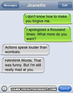 Mad but laughing... #autocorrectfail