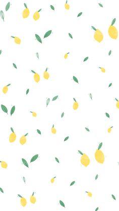 Summer Lemon iPhone Wallpaper Home Screen @PanPins