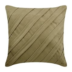 Designer Dark Beige Pillows Cover, Faux Suede Pillow Covers For Couch, Textured Pintucks Solid Color Pillows-Contemporary Dark Beige Beige Pillow Cases, Beige Pillows, Beige Sofa, Beige Throws, Brown Home Decor, Faux Suede Fabric, Pillow Room, Cushions On Sofa, Couch