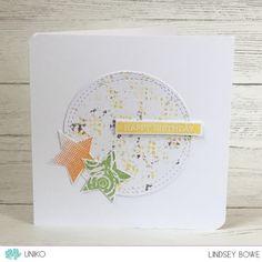 Uniko Studio Stamps. Halftone Background. Seeing Stars