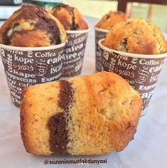 Bardak Kek Yapılışı Breakfast, Food, Muffins, Eten, Hoods, Muffin, Meals, Cupcakes